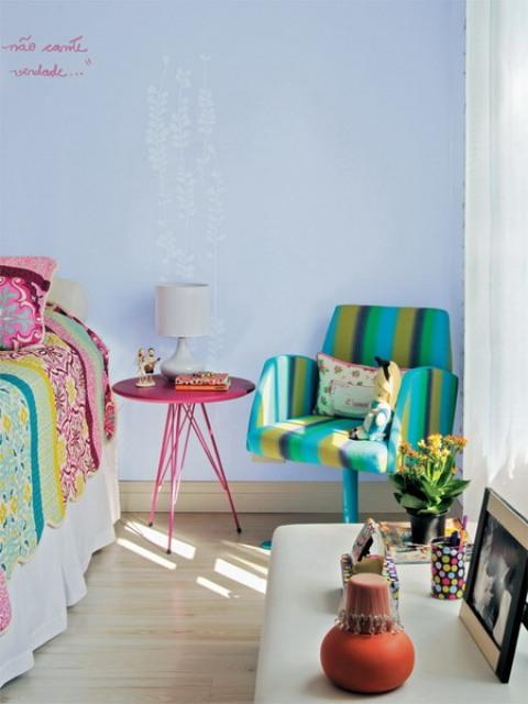 Nhà đẹp,mẫu nhà đẹp,trang trí nhà với màu sắc và họa tiết của nhà thiết kế Brazil