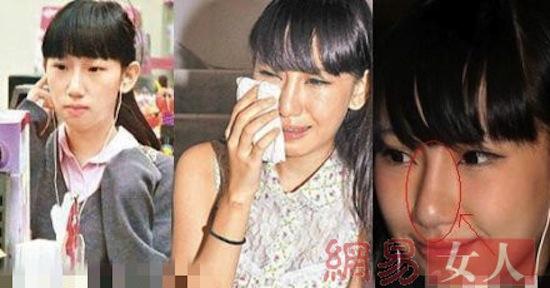 Trần Quán Hy, bạn gái Trần Quán Hy, bạn gái cũ Trần Quán Hy thẩm mỹ, bạn gái cũ Trần Quán Hy bất ngờ xinh đẹp, Tạ Chỉ Huệ