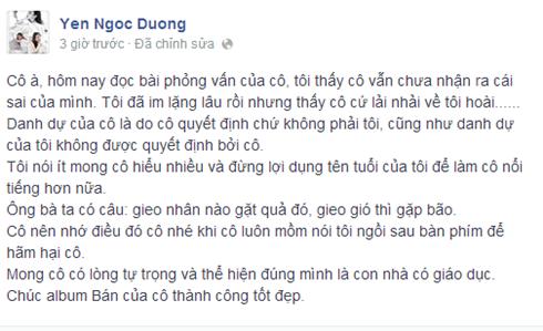 Dương Yến Ngọc, Pha Lê, scandal giật chồng, sao Việt, sao Viet