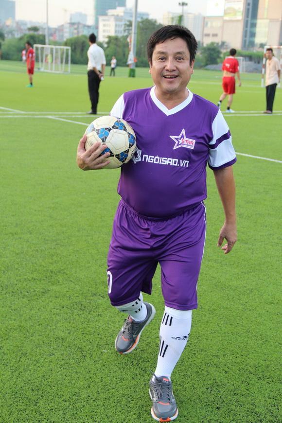 Câu lạc bộ bóng đá ngôi sao việt nam,ngôi sao fc,nghệ sỹ ưu tú chí trung,chí trung mê bóng đá