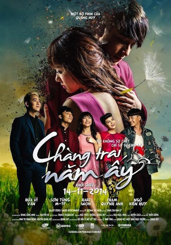 Chàng trai năm ấy, phim Chàng trai năm ấy, Hứa Vĩ Văn, Phạm Quỳnh Anh, Sơn Tùng MT P, phim chiếu rạp, phim của Quang Huy