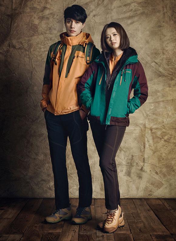 Lee Dong Wook,Go Ara,thời trang thu - đông,thời trang ấm áp,diện đồ đẹp như Lee Dong Wook và Go Ara