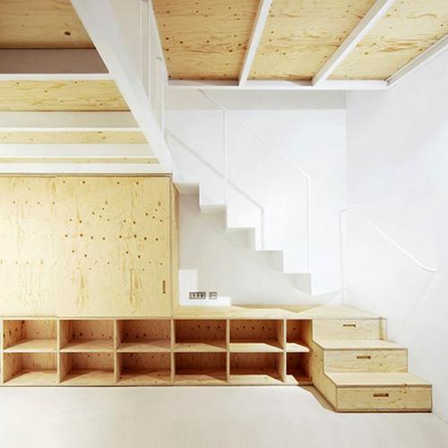 Tủ cầu thang 'cứu cánh' cho nhà nhỏ hẹp - 9
