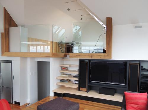 Tủ cầu thang 'cứu cánh' cho nhà nhỏ hẹp - 3