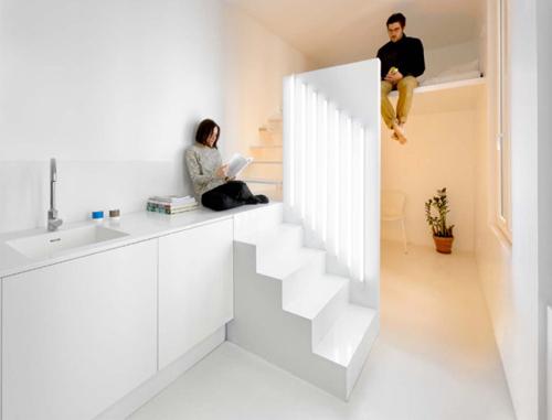 Tủ cầu thang 'cứu cánh' cho nhà nhỏ hẹp - 4