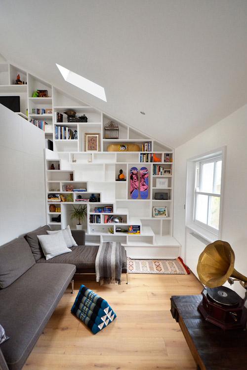 Tủ cầu thang 'cứu cánh' cho nhà nhỏ hẹp - 6