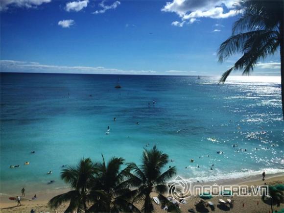 nam ca sĩ cao thái sơn,cao thái sơn tắm biển hawaii,tình cũ cao thái sơn,sao việt,sao nam việt