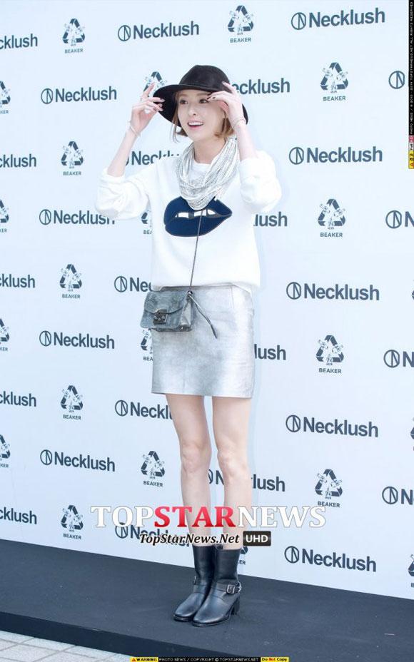 Lee Da Hee,đôi chân xấu xí của sao Hàn,Lee Da Hee lộ đầu gối dị dạng,sao Hàn tại sự kiện