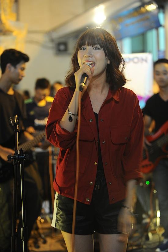 Lễ hội âm nhạc Gió mùa, chương trình nghệ thuật đường phố 5, Bảo Trâm, Hà Linh, Min, Lê Việt Anh