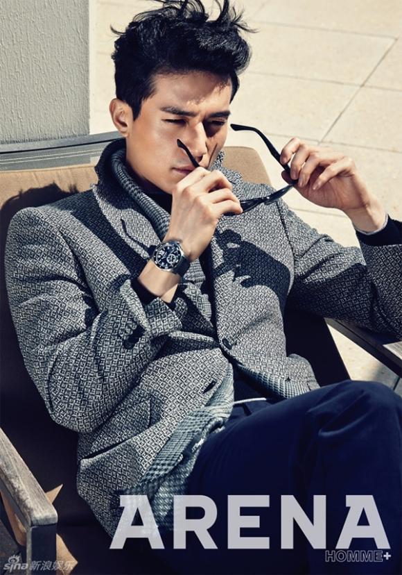 nam diễn viên lee dong wook,sao hàn,sao nam hàn,lee dong wook trên tạp chí allure,sao hàn thẩm mỹ