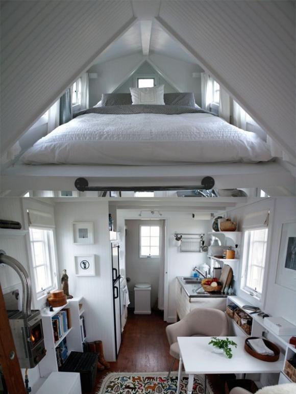 Cách sắp đặt chỗ ngủ cực chuẩn cho nhà chật 5