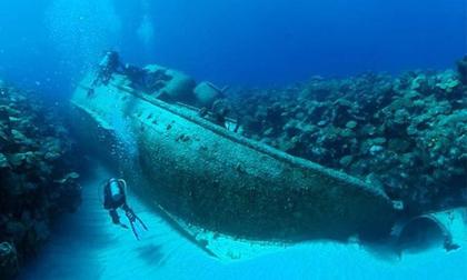 phát hiện con tàu hơi nước khổng lồ, con tàu hơi nước dưới lòng đất, phát hiện khảo cổ