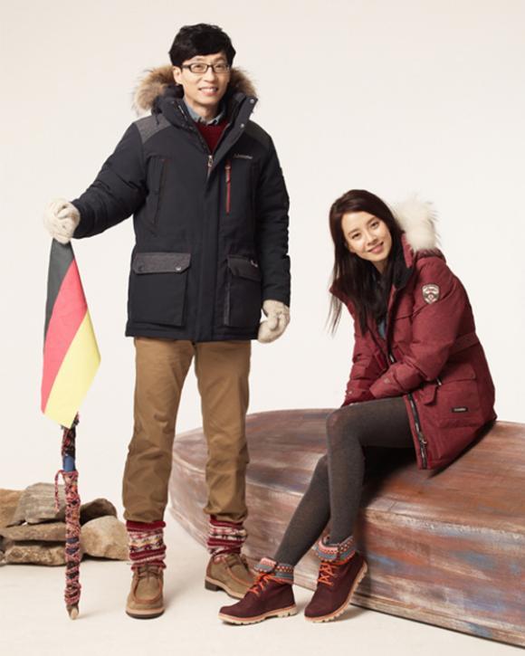 Song Ji Hyo và Yoo Jae Suk thời trang schoffel,Song Ji Hyo và Yoo Jae Suk,nữ diễn viên Song Ji Hyo,sao hàn