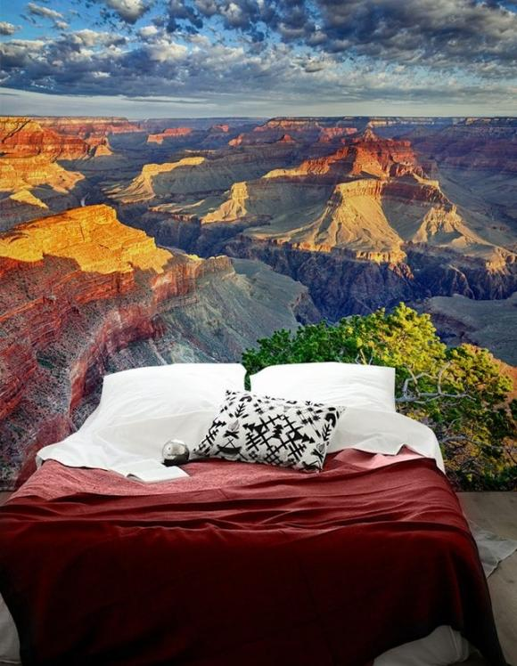 Grand Canyon Wall Mural by PIXERS Nature Inspired Eye Deceiving Wall Murals to Make Your Home Look Bigger