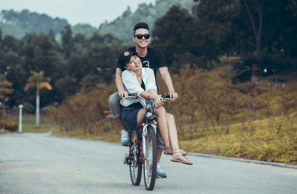 sao Việt, Đông Hùng, Phương Linh, cặp tình nhân đẹp đôi, Vietnam Idol 2014, Ngày mai yêu thêm