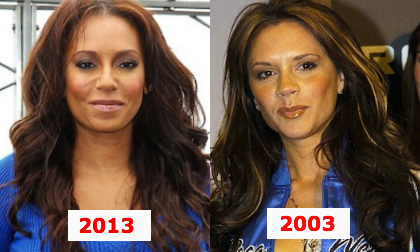 The Spice Girls,Victoria Beckham,sao Hollywood