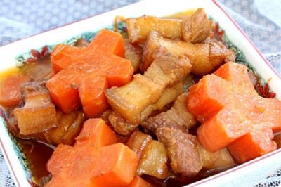 Thịt ba chỉ kho cà rốt, Cách làm thịt ba chỉ kho cà rốt, Món ăn ngon