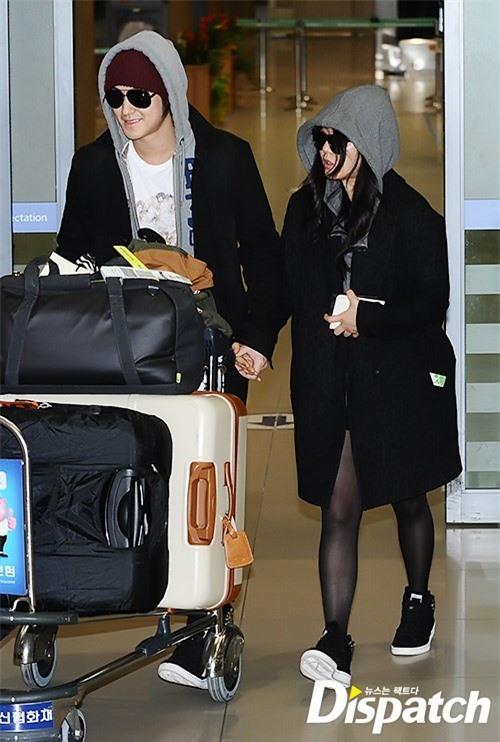 Moon Geun Young,Kim Bum,Thiên thần xứ Hàn Moon Geun Young,Moon Geun Young lộ mặt bánh bao tròn vo,mối tình Kim Bum - Moon Geun Young,Kim Bum và Moon Geun Young sân bay