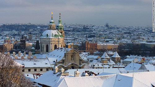 Nghỉ đông, Washington, Amsterdam, Prague