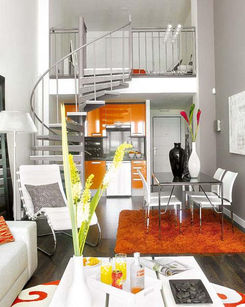 Thiết kế nhà đẹp, Trang trí nhà đẹp, Bài trí nội thất, Nhà chật
