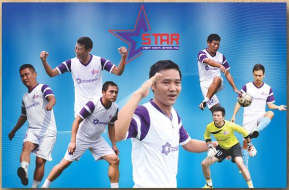 Sao việt,sao viet,câu lạc bộ bóng đá ngôi sao việt nam,ngôi sao fc,chung kết cúp hồ gươm 2014
