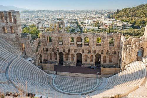 Địa danh du lịch, Thành phố cổ, Athens, Damacus