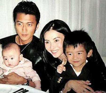Tạ Đình Phong, Tạ Đình Phong lập quỹ cho con trai, Vương Phi, Trương Bá Chi, con trai Tạ Đình Phong, hai con trai Tạ Đình Phong