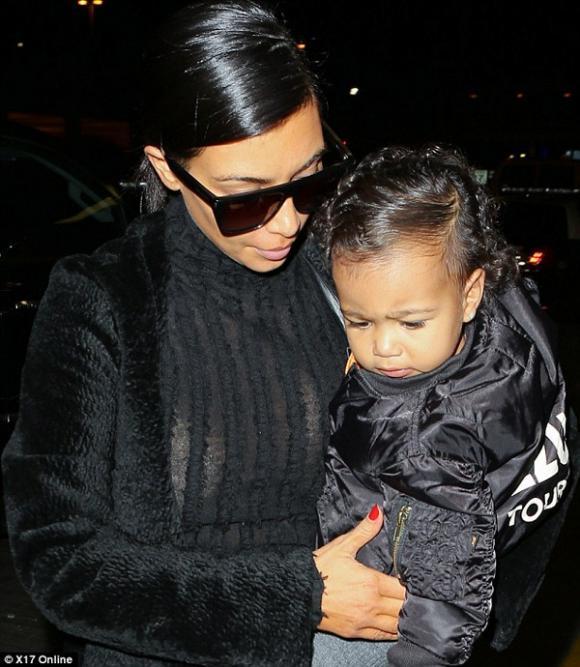 mẹ con Kim Kardashian,con gái Kim Kardashian,vợ chồng Kim Kardashian,Kim Kardashian sành điệu,sao hollywood