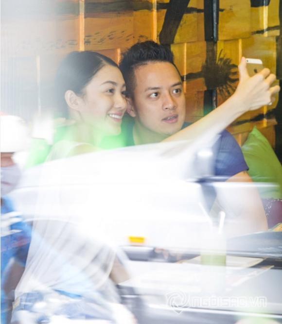 sao Việt, Cao Thái Sơn, scandal Cao Thái Sơn, Cao Thái Sơn công khai hẹn hò bạn gái, gà cưng Vũ Khắc Tiệp, Lê Hà, Lê Hà thi Hoa hậu Việt Nam 2014
