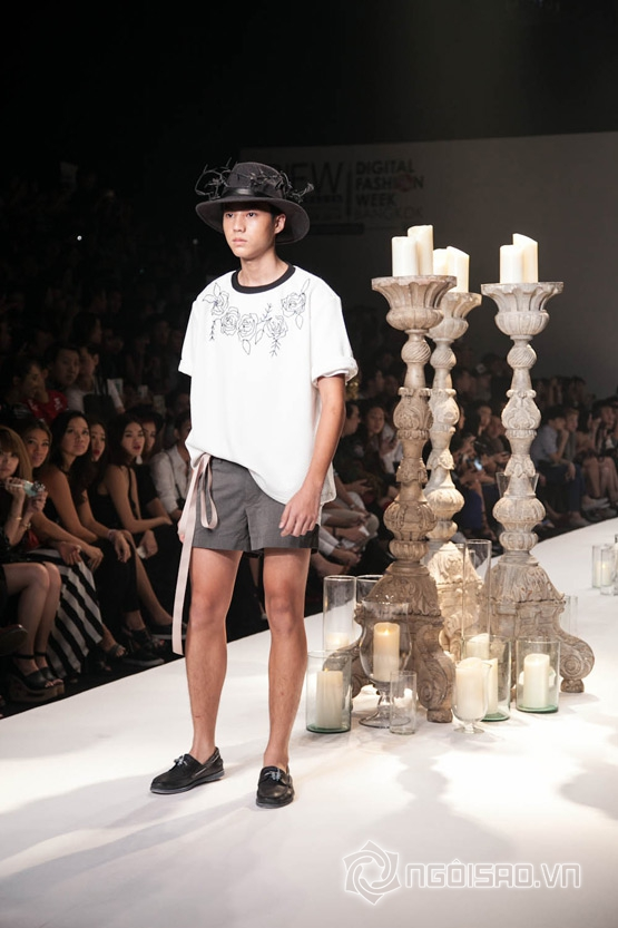 Trịnh Tú Trung, Bangkok International Fashion Week, Tom Nguyễn