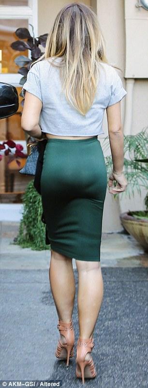 Kim Kardashian, Kim siêu vòng ba, hình ảnh hài hước của sao