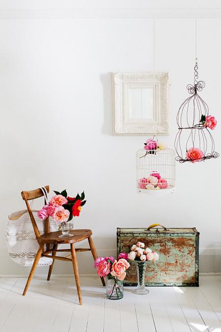 goi y cach trang tri nha bang hoa tuoi cuc an tuong10 Chia sẻ cách trang trí nhà bằng hoa tươi cực ấn tượng