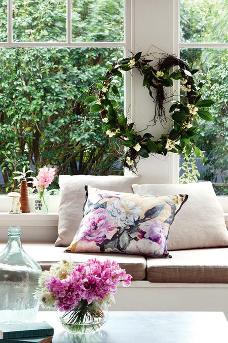 goi y cach trang tri nha bang hoa tuoi cuc an tuong2 Chia sẻ cách trang trí nhà bằng hoa tươi cực ấn tượng