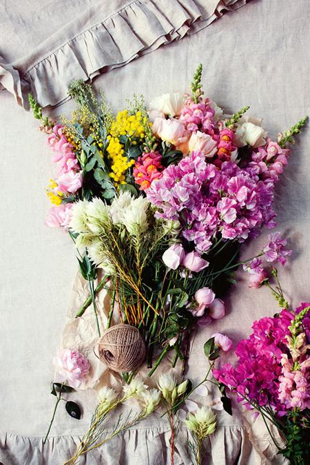 goi y cach trang tri nha bang hoa tuoi cuc an tuong6 Chia sẻ cách trang trí nhà bằng hoa tươi cực ấn tượng