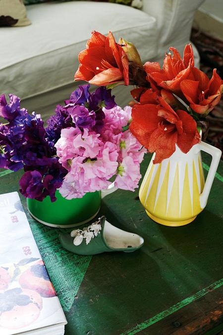 goi y cach trang tri nha bang hoa tuoi cuc an tuong8 Chia sẻ cách trang trí nhà bằng hoa tươi cực ấn tượng