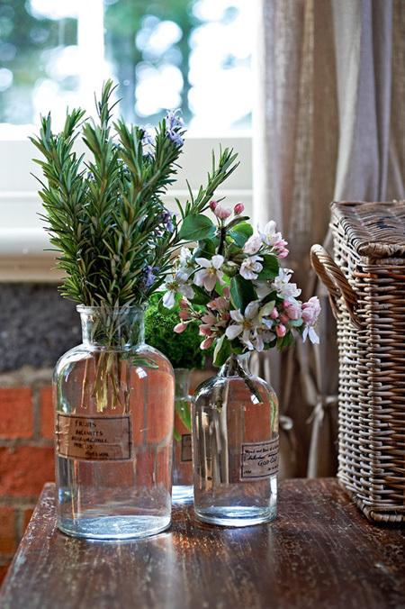 goi y cach trang tri nha bang hoa tuoi cuc an tuong9 Chia sẻ cách trang trí nhà bằng hoa tươi cực ấn tượng