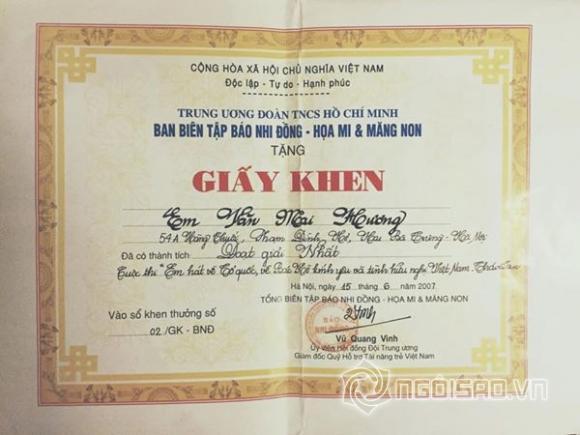 Sao Việt và những lần khoe giấy khen đáng ngưỡng mộ - Ảnh 7