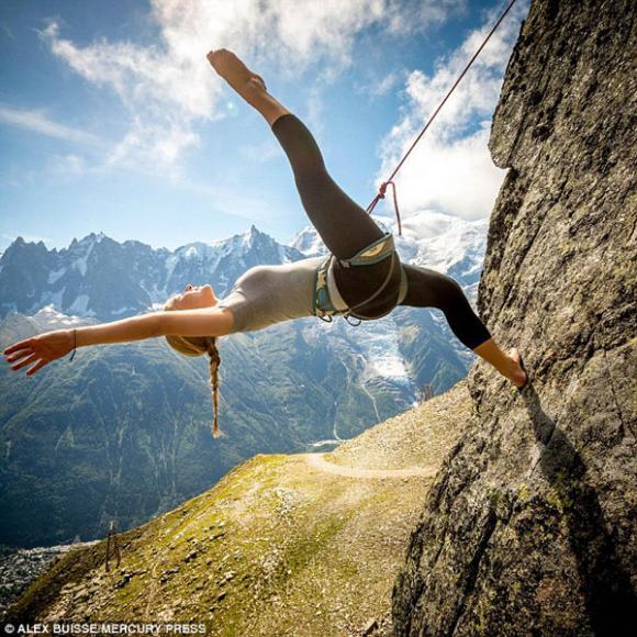 Vũ công,vũ công múa trên vách đá,vũ công Pháp