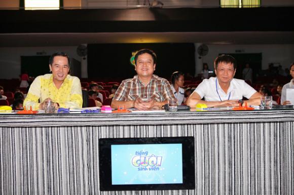 sao Việt,NSƯT Chí Trung, NSƯT Chí Trung làm giám khảo, đạo diễn Lê Hoàng, Tiếng cười sinh viên