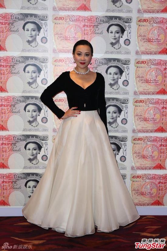 Lưu Gia Linh, Lưu Gia Linh sinh nhật tuổi 49, Lưu Gia Linh đẹp rạng rỡ, Lương Triều Vỹ, Vương Phi