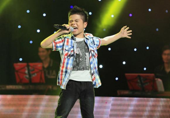 quang anh,quán quân The Voice Kids 2013,sao việt