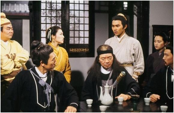 Quách Tĩnh, Trương Vô Kỵ, Hư Trúc, Vương Ngữ Yên, Phim Kim Dung