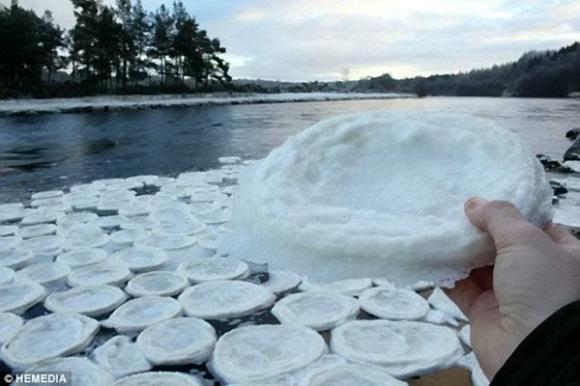 Băng tuyết,băng tuyết kết hình chiếc đĩa