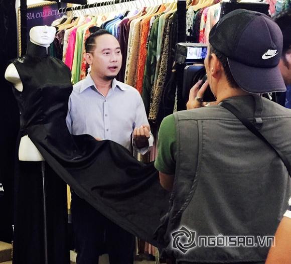 Võ Việt Chung, nhà thiết kế, áo dài, Đài truyền hình quốc tế FUJI Nhật Bản)
