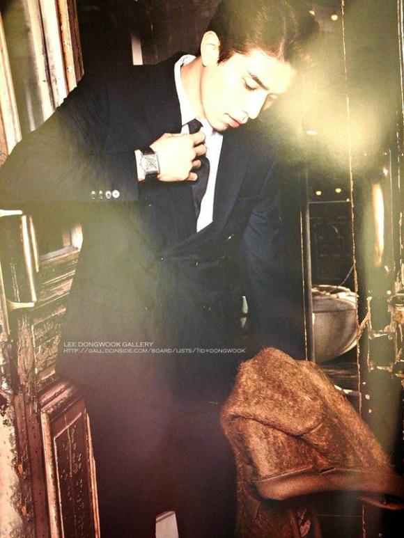 Lee Dong Wook, ngắm Lee Dong Wook, Lee Dong Wook thời trang, diễn viên