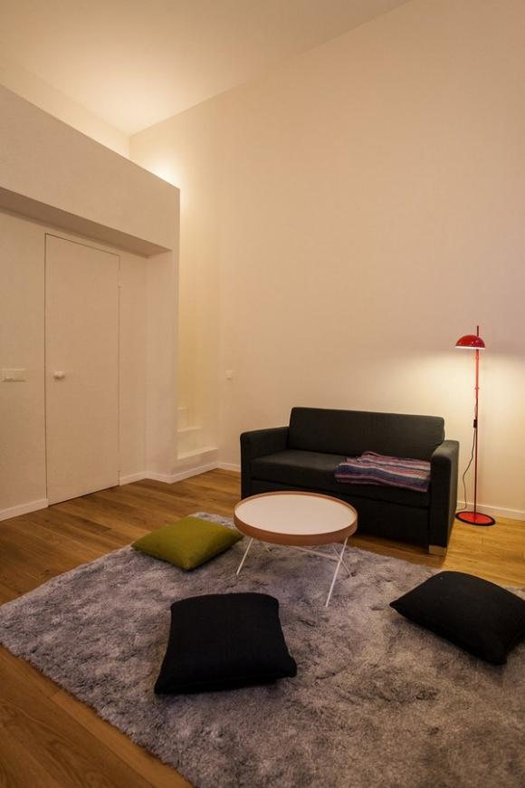 Ngắm căn hộ 24m² hiện đại trong lòng biệt thự cổ 6