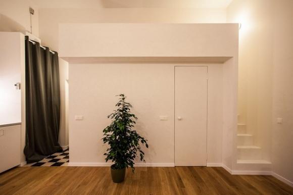 Ngắm căn hộ 24m² hiện đại trong lòng biệt thự cổ 9