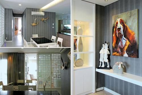 1393605227 3 vert tile jpg2 Ngỡ ngàng với ngôi nhà được trang trí đẹp mỹ miều với giấy và đá