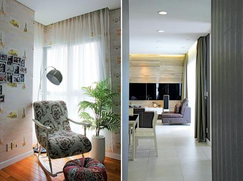 1393605227 7 tile jpg4 Ngỡ ngàng với ngôi nhà được trang trí đẹp mỹ miều với giấy và đá