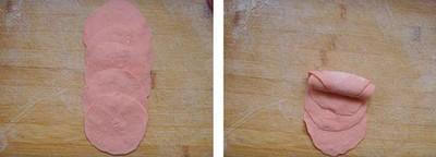 Ăn ngon,cách làm món ăn ngon,làm bánh bao hoa hồng